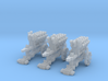 10mm Imperial Hell-Blaster Cannons (3pcs) 3d printed