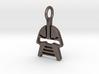 Cylon Charm 3d printed