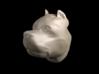 The Hulk dog - Amstaff Keychain pendant 3d printed