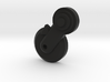 Thumbpin: Round base, Left-side - Tavor Safety 3d printed