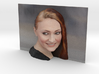 3D Photo of Sophie Turner ready for 3d print 3d printed