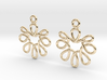 Celtic Weave Earrings - WE001 3d printed