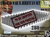 1-285 US & German Jerrycans Set 3d printed