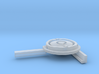 1/35 Uboot Left Compass With Support 3d printed