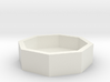 Betonblumenkübel achteckig DDR 1:120 3d printed
