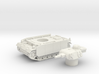 Panzer III tank M (Germany) 1/100 3d printed