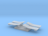 Bolster Cover Plates for fowler boxcar underframe  3d printed