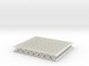 Lattice girder 01. HO Scale (1:87) 3d printed