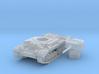 Valentine tank (British) 1/144 3d printed