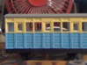 OO9 Talyllyn / Skarloey Railway Coach TYPE 1 3d printed Old Design: Newer one has proper dimensions (see render)