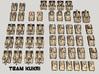 "3mm ""Team Kukri"" Tracked Armor Task Force (48pcs) 3d printed"