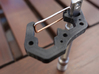"""Mini EDC Carabiner 8mm 10mm 12mm 1/4"""" 3d printed A quick screwdriver can be made using the carabiner and an extension."""