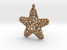 Starfish Pendant (Earrings) 3d printed