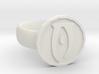 Oblivion Ring 3d printed