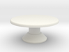 Table, Mezzatessera, Round, Low (Space: 1999) 1/30 3d printed