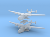 Boeing 314 Flying Boat Set 1/1250 and 1/1200 scale 3d printed