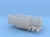 N scale 1/160 Woodchip B-train trailer 3d printed