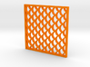 Costers with Fish Scale Pattern 3d printed