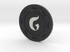 Gomorrah Poker Chip 3d printed