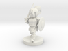 Gnome  Female Fighter 3d printed