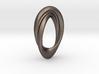 Twisted Loop Pendant 3d printed