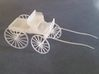 Horse Drawn 4 wheel buggy  3d printed Assembled kitset