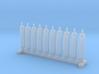 N Scale 10 Gas Cylinders 3d printed