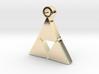 Delta Triangle Pendant 3d printed