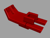 VF-1 Option Part; Battroid Access - 1 Seater 3d printed Seat Sled