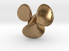 1/72 German Schnellboot Brass Propellers Right 3d printed