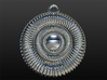 Hypnotizing Pendant of Illusion 3d printed software rendering