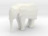 LowPoly Elephant 3d printed
