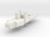 Gunmaster #2, Long-Barrel Kit, 5mm handle 3d printed