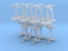 MicroFleet Space Mongol Fast Attack Group (14pcs) 3d printed