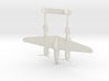 1:285 P-38 Lightning  3d printed