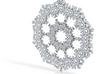 Spheric Fractal Pendant 3d printed