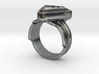Doctor Evil Ring  Size 7 3/4 17.97mm 3d printed