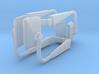 (2) MODERN MANUAL ADJUST MIRROR SETS 3d printed