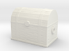 Banded Wooden Chest 3d printed