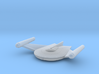 Romulan Bird-of-Prey (TOS) 1/7000 3d printed