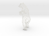 40cm Low Poly Bear Statue 3d printed 40cm Low Poly Bear Statue