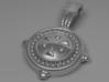 Light Medallion Pendant 3d printed