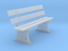 GWR Bench later style 4mm 3d printed