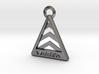 Saab Viggen Badge Keychain 3d printed