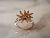 Edelweiss ring  3d printed