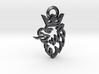Saab Griffin logo keychain 3d printed