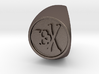 Custom Signet Ring 50 3d printed