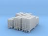 SET 6 Kleinbehälter (N 1:160) 3d printed
