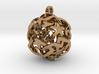 12-Stars sphere pendant 3d printed