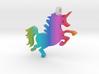 Rainbow Unicorn! 3d printed